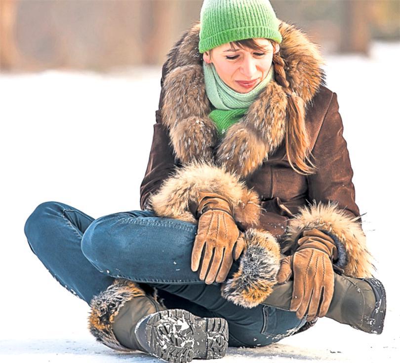 Ai alunecat pe zăpadă şi te-ai accidentat?